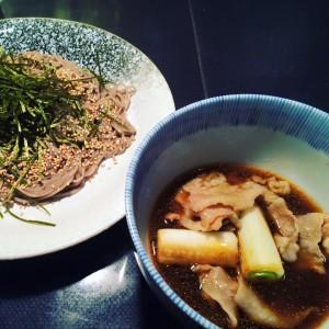 ピリ辛肉蕎麦